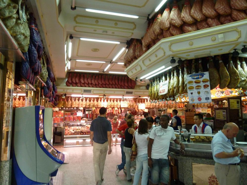 Le Musée du jambon de Madrid