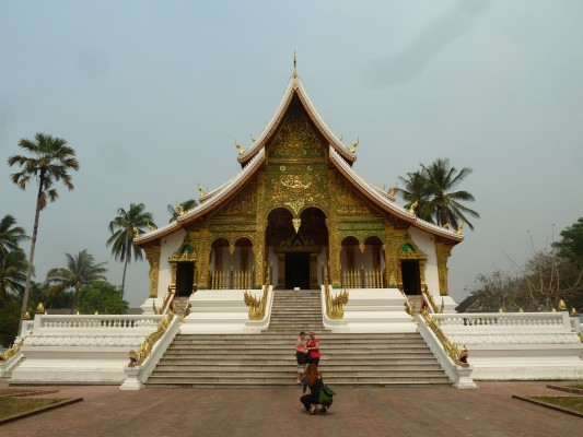 Haw Pha Bang, sur le site de l'ancien Palais royal