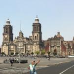 La Catedral Metropolitana et une photobombe olympique.