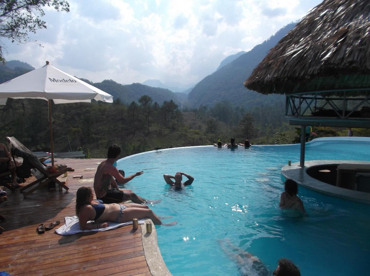 Les piscines naturelles de semuc champey la page pageau - Combien coute une piscine naturelle ...