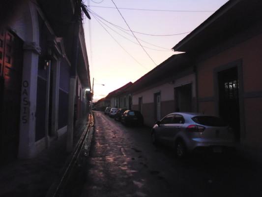 Le soir tombe sur Granada...