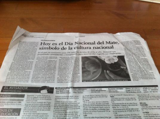 Un article rapporté de Mendoza