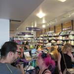La foule des grands jours à la librairie Ulysse