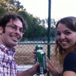 Audrey, le joueur de softball et moi