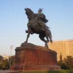 La statue équestre d'Amir Temur