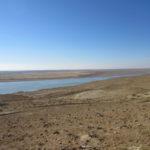 La frontière avec le Turkménistan