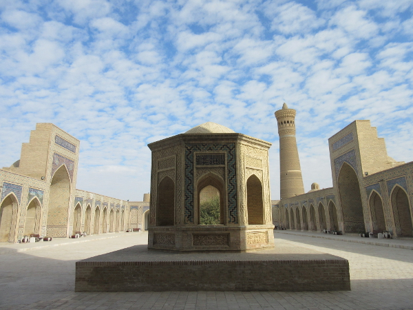 Mosquée Kalon, à Boukhara